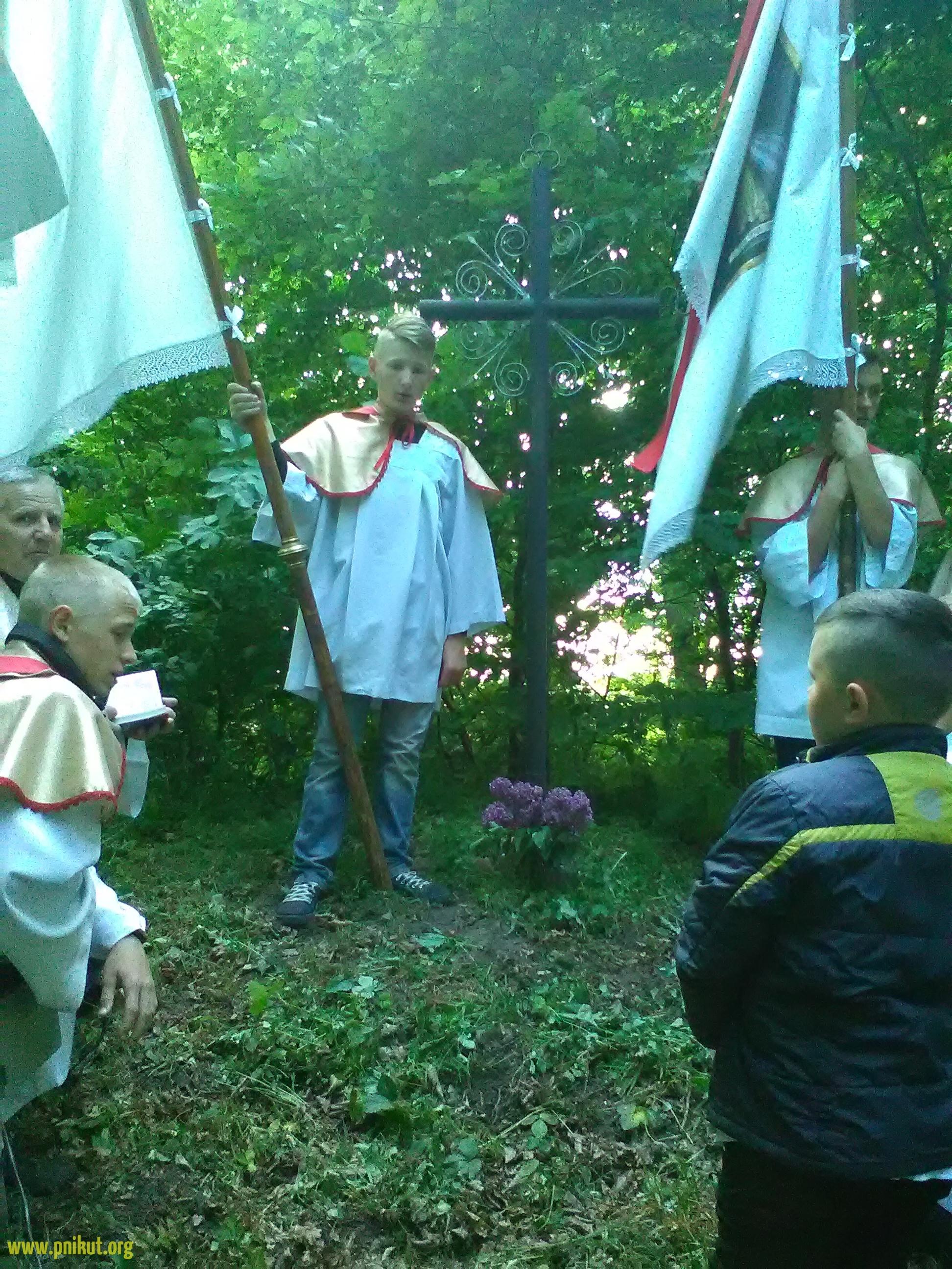Dni Krzyżowe. Procesja do Krzyża na Cmentarzu Tatarskim